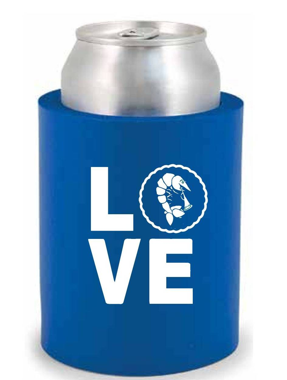 Tshirt in a koozie for Shirts and apparel koozie